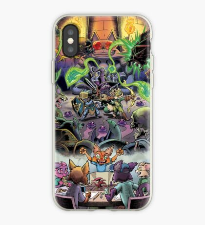 Dungeon Cats - Surrounded iPhone Case