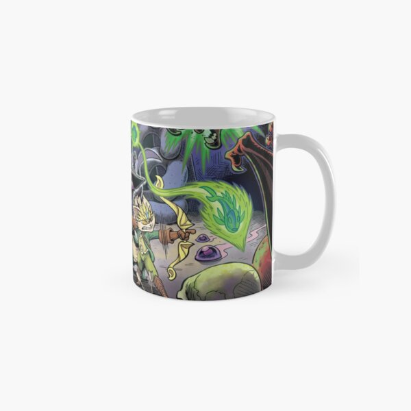 Dungeon Cats - Surrounded Classic Mug