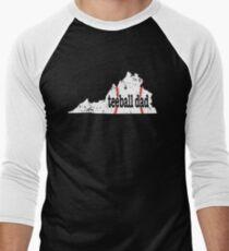 Virginia Baseball Tee Ball Dad Coach Shirt Men's Baseball ¾ T-Shirt
