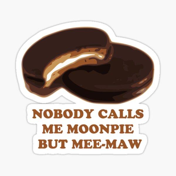 Meemaw Moonpie Sticker