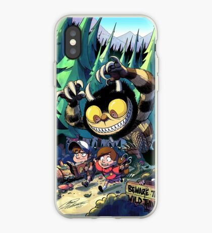 Beware the Wild Things iPhone Case