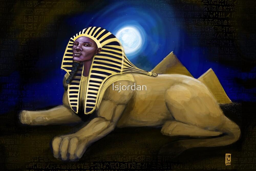 The Sphinx by lsjordan