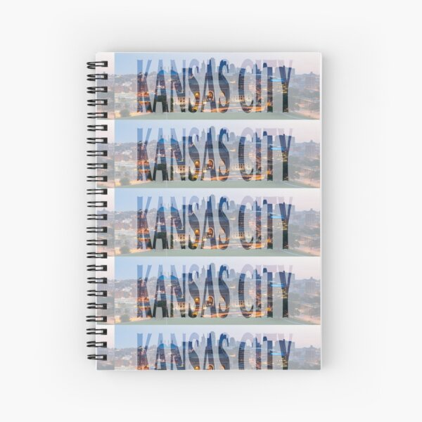 Kansas City Spiral Notebook