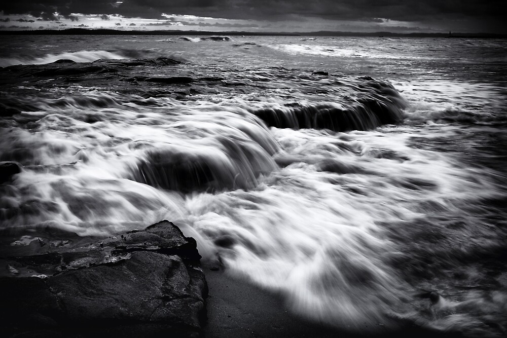 Over The Rocks by Oceansoul  Photografix - Susie Thomspon