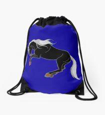 Dark Unicorn Drawstring Bag