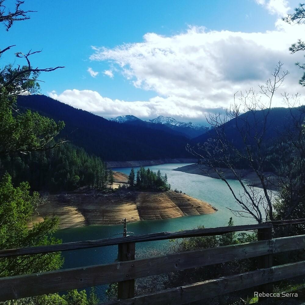 Lakeside view by Rebecca Serra