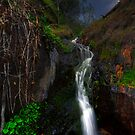 Storming waterfall by hellofromearth