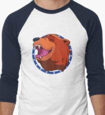 Bear for Hire Men's Baseball ¾ T-Shirt