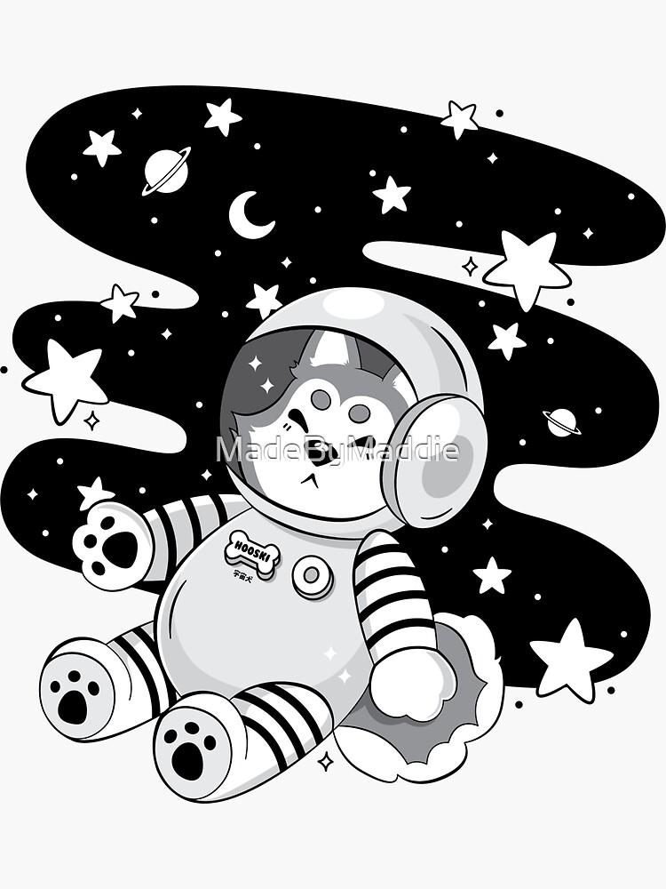 Cmdr. Hooski (Grayscale) by MadeByMaddie