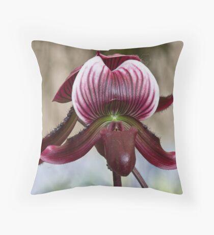Hong Kong Orchid 4 Throw Pillow