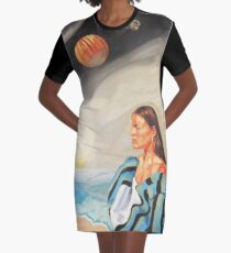 I Made the Break (Self Portrait) Graphic T-Shirt Dress