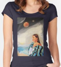 I Made the Break (Self Portrait) Women's Fitted Scoop T-Shirt