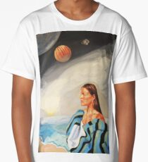 I Made the Break (Self Portrait) Long T-Shirt