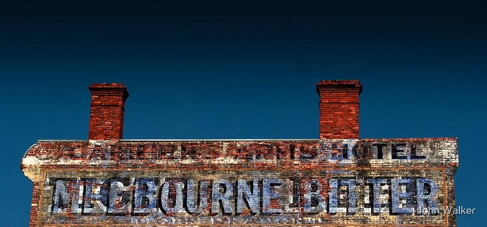 Melbourne Bitter by John Walker