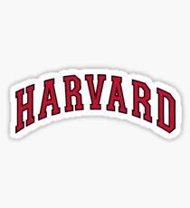 Harvard Sticker Sticker
