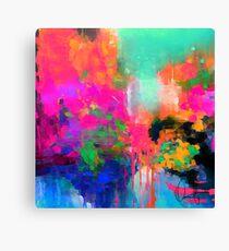 Montesilvano-Abstract Canvas Print