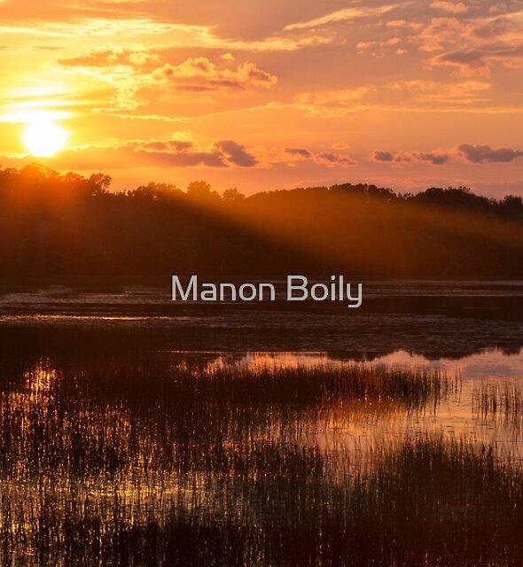 Sun down by Manon Boily