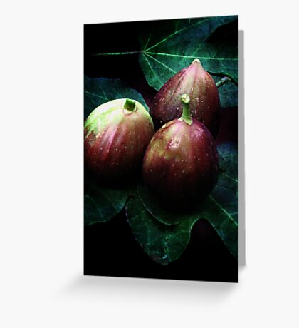 just figs Greeting Card