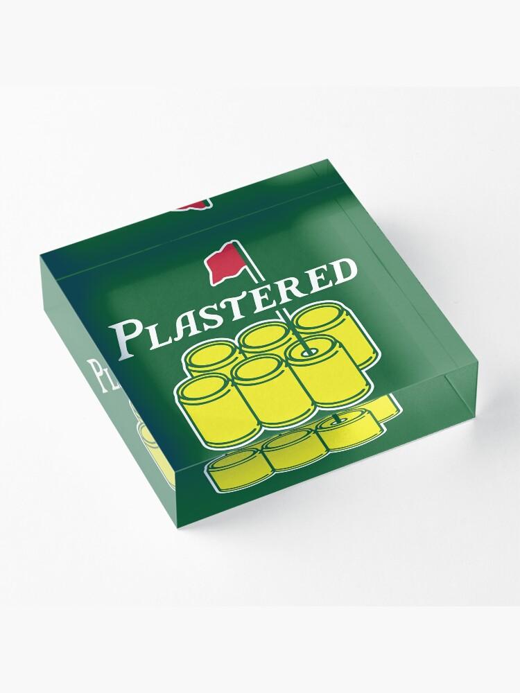 Alternate view of Plastered 2 Acrylic Block