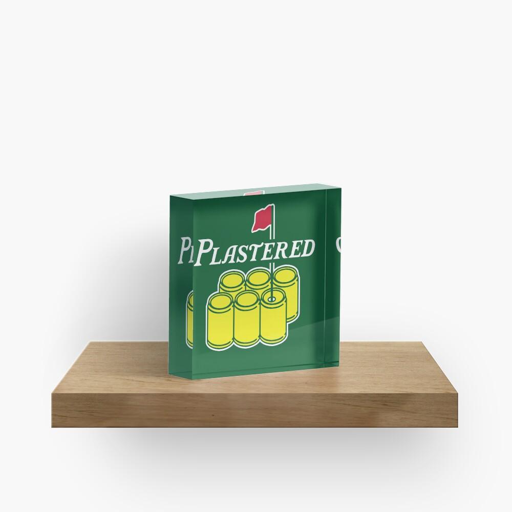 Plastered 2 Acrylic Block