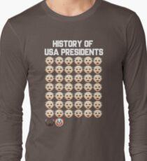History USA President Clown Trump Long Sleeve T-Shirt