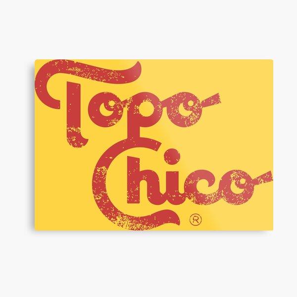 Topo Chico Metal Print