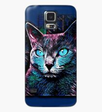 CAT MULTICOLOR Hülle & Skin für Samsung Galaxy