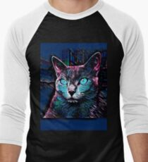 CAT MULTICOLOR Men's Baseball ¾ T-Shirt