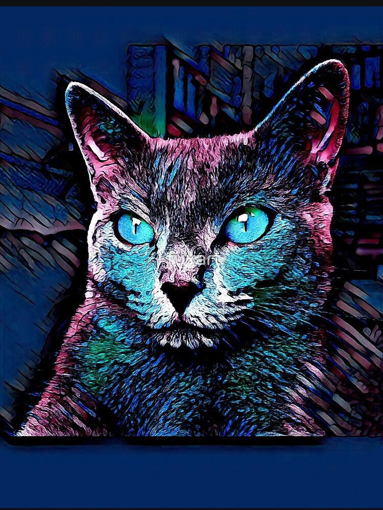 CAT MULTICOLOR von fuxart