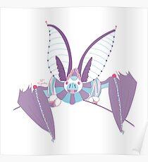 Robot Bat Poster