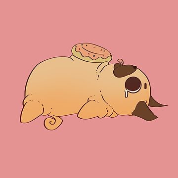 Pug Doughnut  by GuildCave