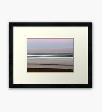 Beach Impressions #1 Framed Print