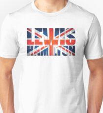 Lewis Hamilton - British Flag T-Shirt
