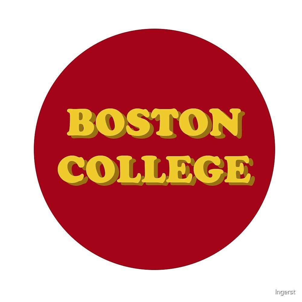 BOSTON COLLEGE by lngerst