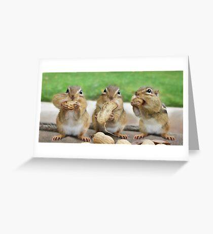 """Say """"Cheese"""" (or Peanuts) Greeting Card"""
