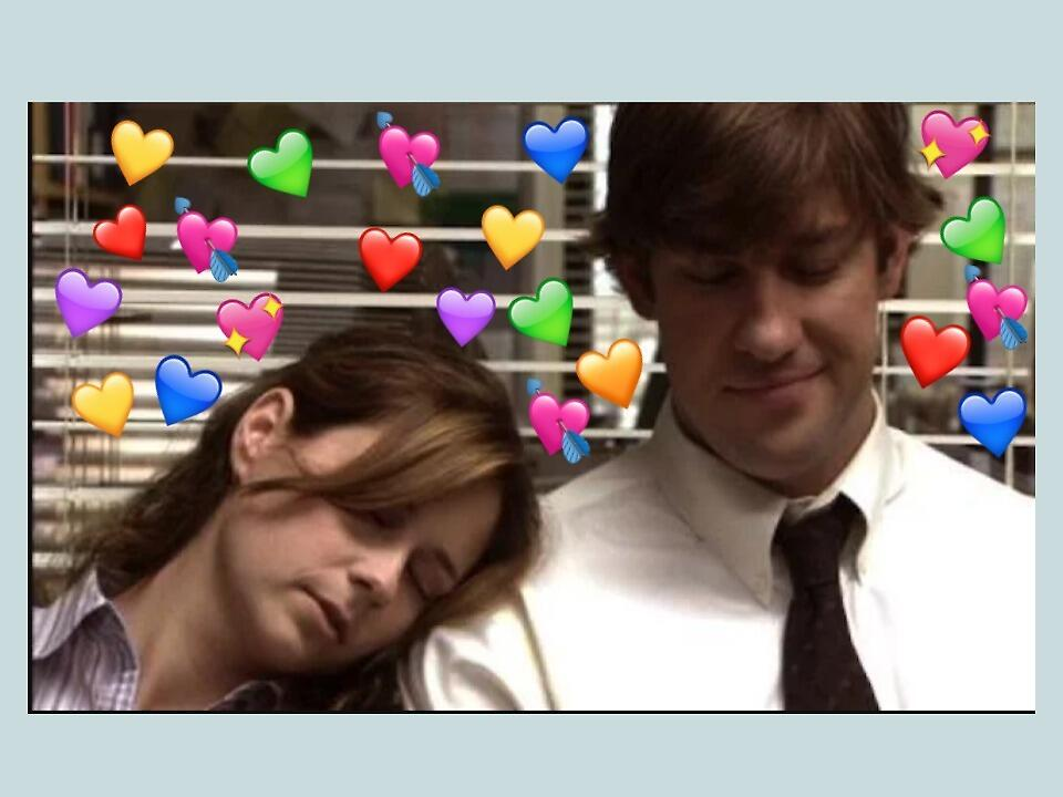 Jim & Pam by celestegonzales