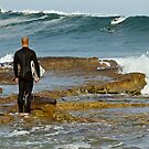 Dee Why Surfer - The Wait by Jason Ruth