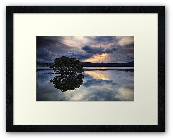 Reflections at Days End by Annette Blattman