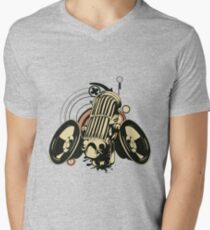 Music art Mens V-Neck T-Shirt