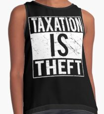 Taxation Is Theft Contrast Tank