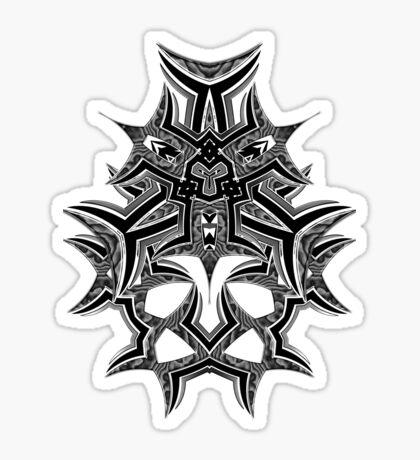 TribalMask Sticker