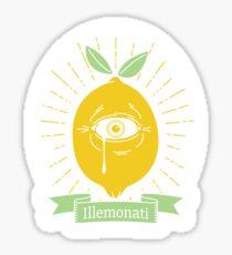 Illemonati Sticker