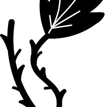 Black Dry Leaf by mrlncr