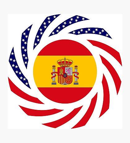 Spanish American Multinational Patriot Flag Series Photographic Print