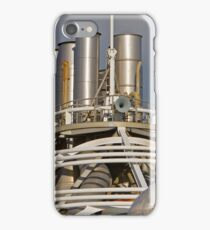 Ships funnels on the Azura iPhone Case/Skin