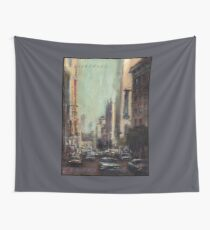 Life's Just A Cocktail Party on the Street Wall Tapestry