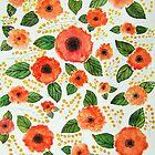 Spring Flowers Pattern by Natalie Ricker