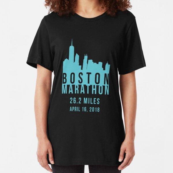 Boston Marathon 2018 Slim Fit T-Shirt