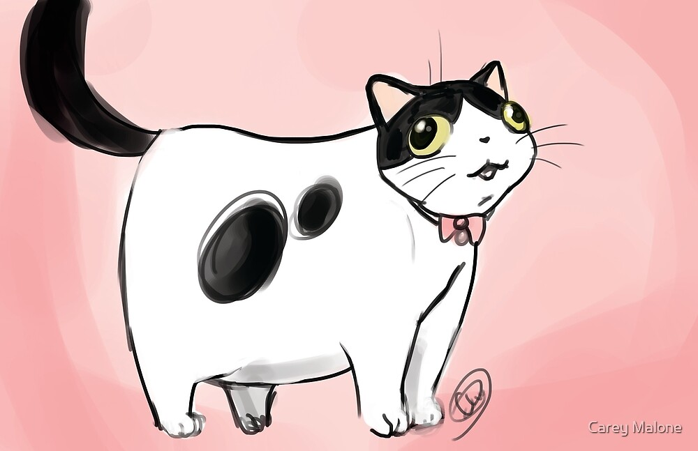 An Accurate Depiction of my Cat by Carey Malone