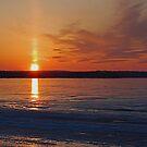 Whiskey Sunset On Ice by Joanne  Bradley